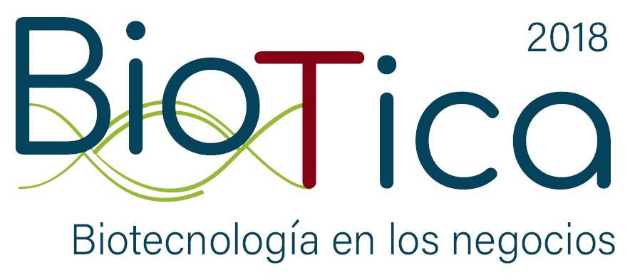 Logo de biotecnología en los negocios
