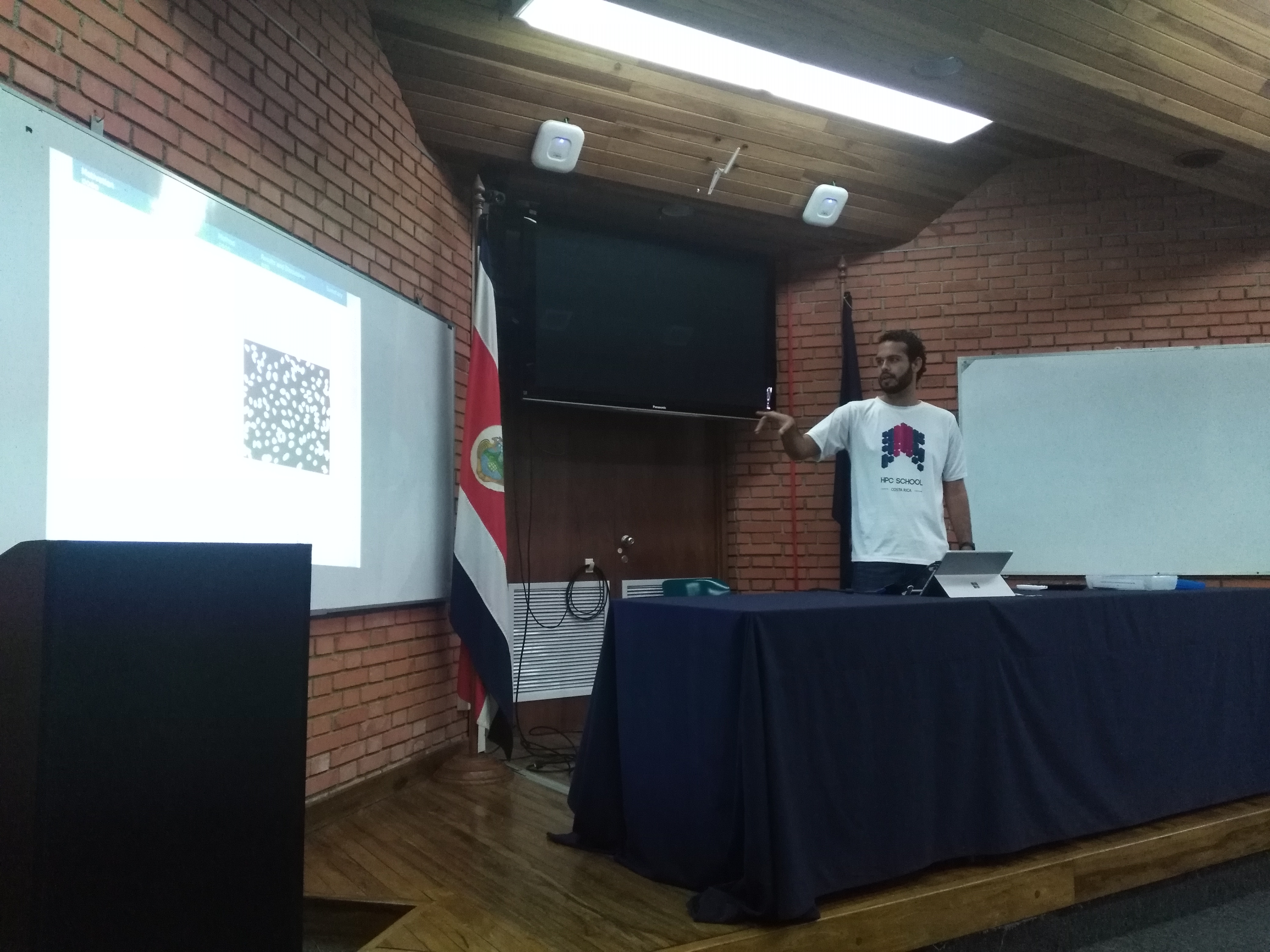 I conference iteration, Manuel Zumbado Corrales