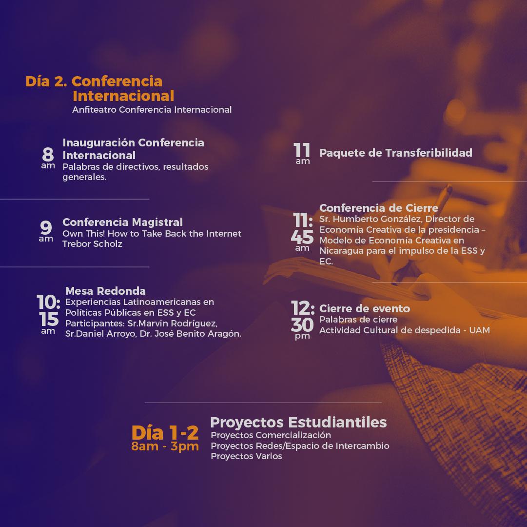 agenda dìa 2