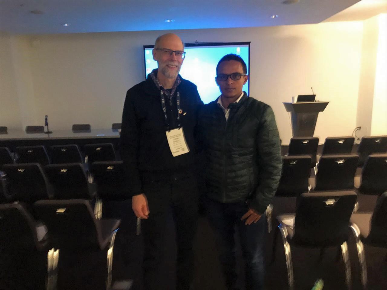 EL Master Araya tuvo la oportunidad de compartir con expertos a nivel mundial, en especial el Prof. Loren Ramsay