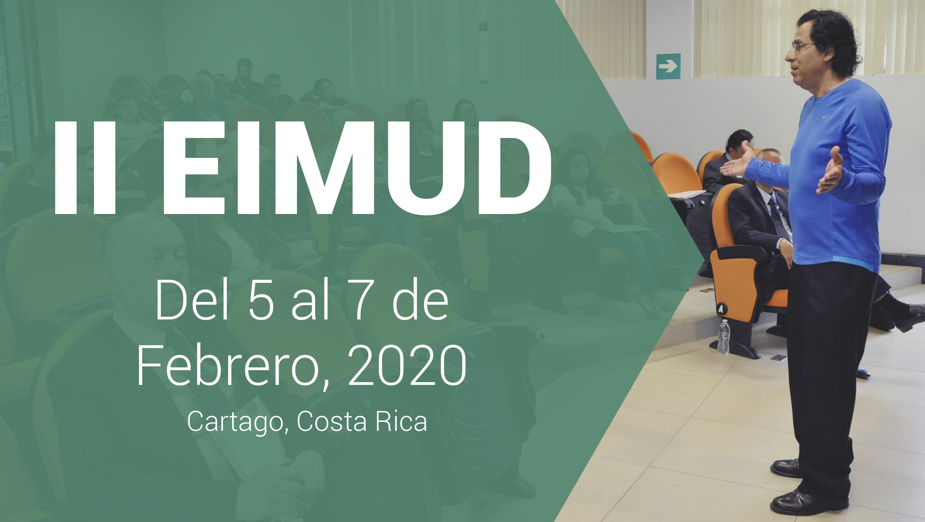 banner ii encuentro internacional de matemática universitaria y su didáctica