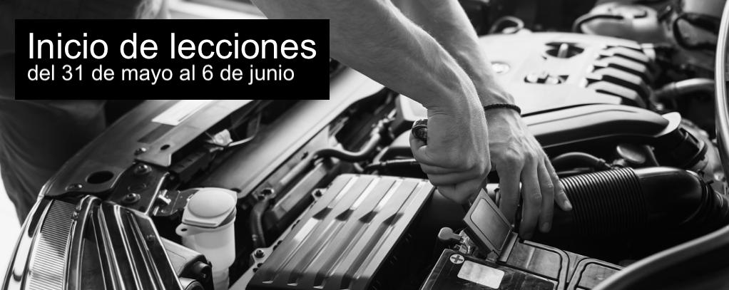inicio de lecciones del 31 de mayo al 6 de junio