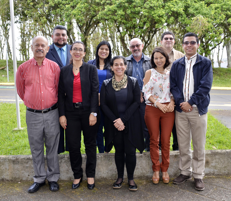 Miembros de la comisión de planificación y administración