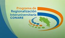 Logo de Programa de Regionalización Universitaria CONARE