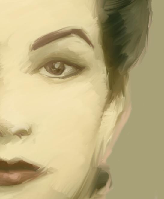 Imagen dibujada de una mujer