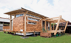 Casa Trópika, una estructura de madera diseñada para el mayor aprovechamiento energético.