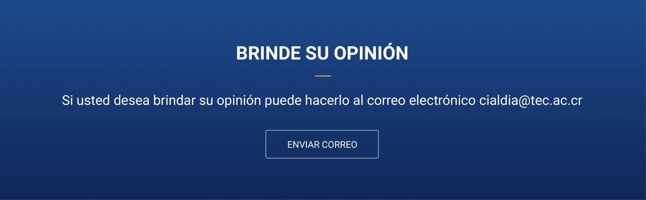 Banner de opinión.