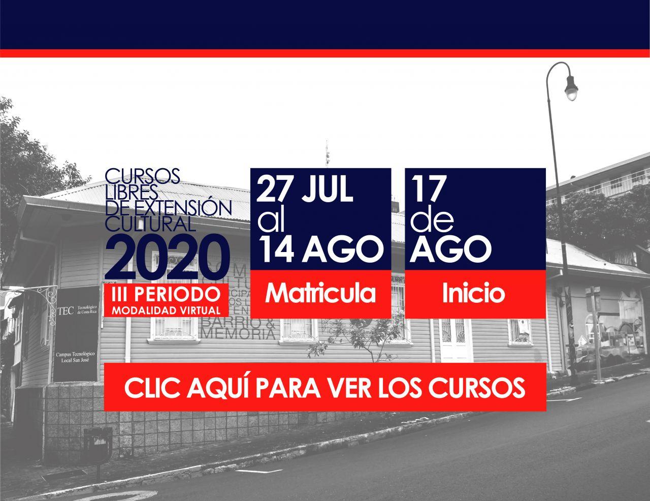 BANNER ENLACE A CURSOS III PERIODO 2020