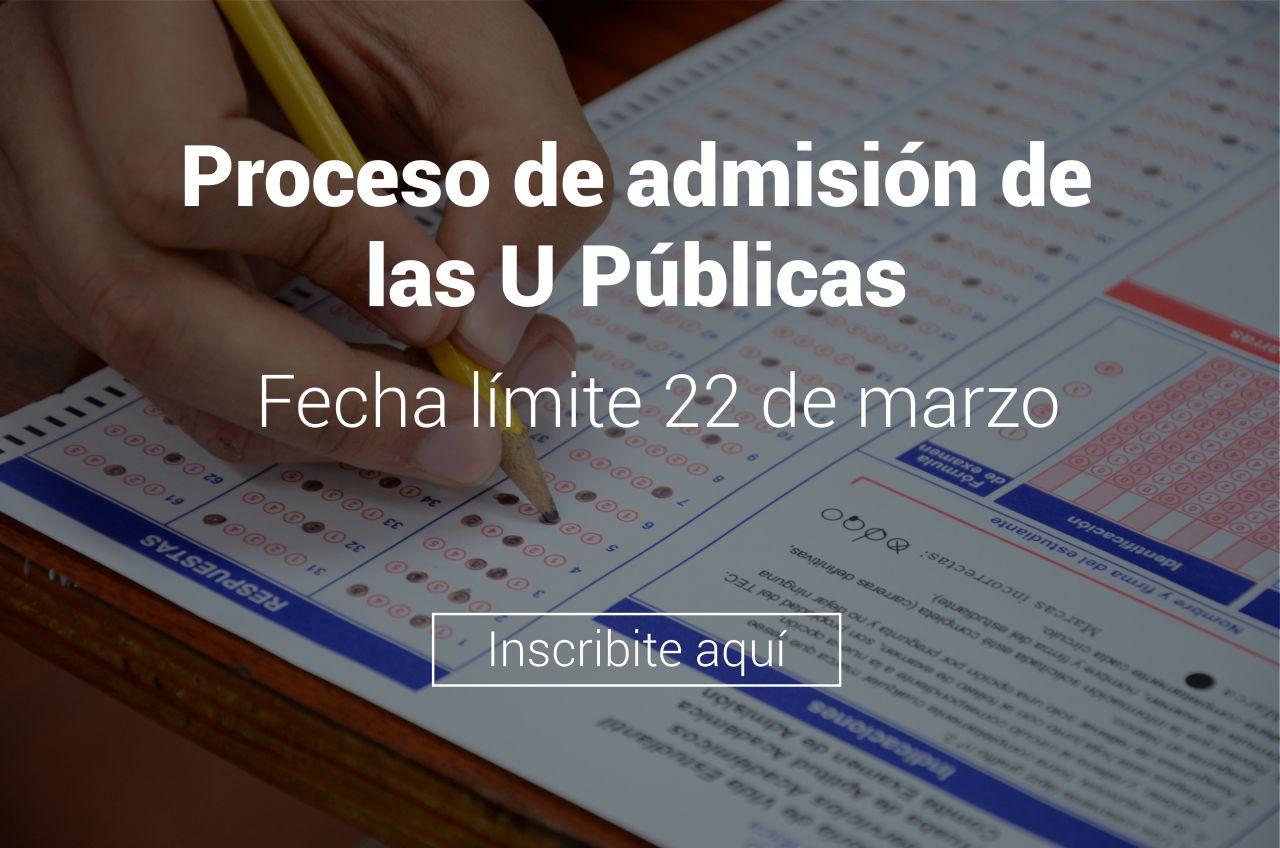 banner sistema de inscripción examen de admisión al tec