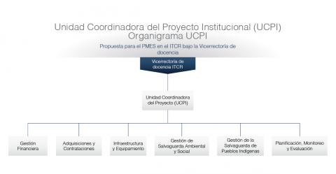 Unidad Coordinadora del Proyecto Institucional - Banco Mundial