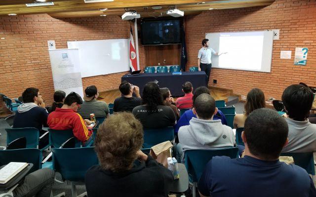 Conference by Master J. Esteban Pérez