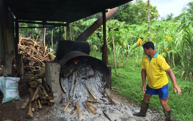 Antigua caldera de leña para calentar el agua y pasteurizar la leche. (Ademar Soto, LLAFRAK)