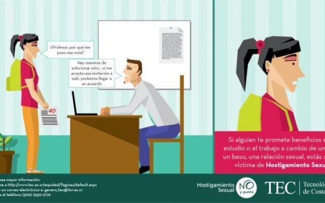 Campaña contra el Hostigamiento Sexual