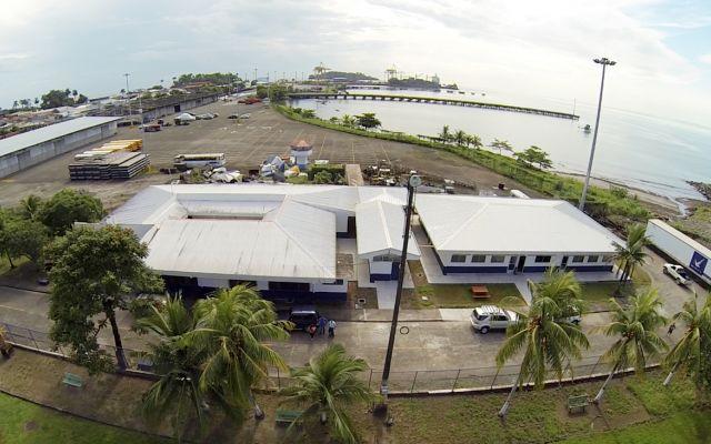 Vista área - Centro Académico de Limón