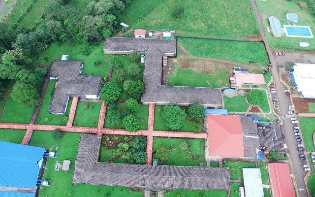 Vista área - Sede San Carlos