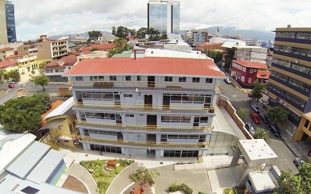 Vista área - Centro Académico de San José
