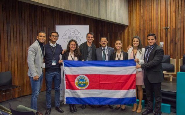 Estudiantes emprendedores representaron a Costa Rica en cumbre latinoamericana de biotecnología en Chile