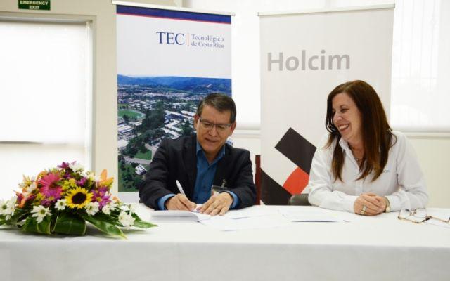 TEC y Holcim Costa Rica se alían en pro del desarrollo del país