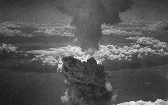 Imagen de la explosión de un abomba nuclear.