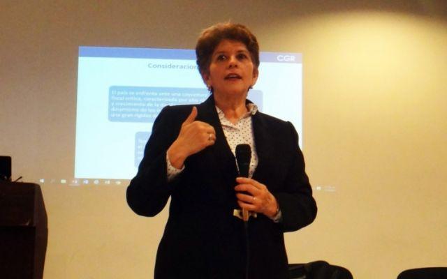 """""""Les tengo malas noticias"""": Marta Acosta, contralora general de la República"""