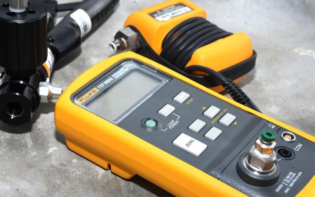 Imagen de un instrumento de  medición de metrología.
