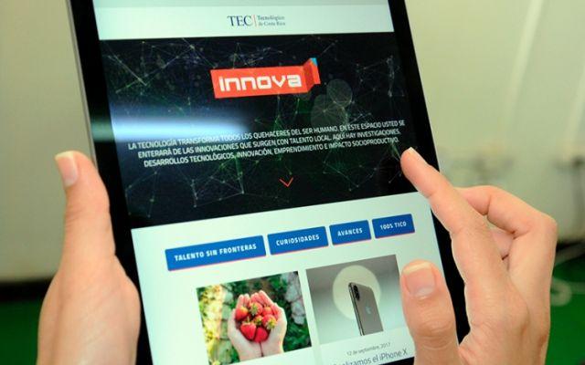 Innova es la nueva alianza del TEC y La Nación