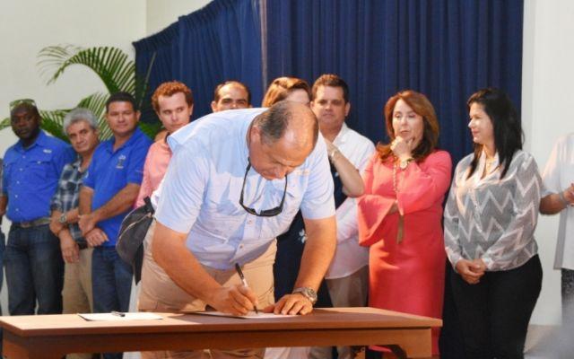 Instituciones públicas y sector privado se unen para el desarrollo de la provincia de Limón