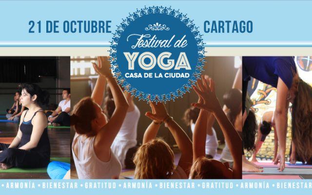Festival de yoga, 21 de octubre.