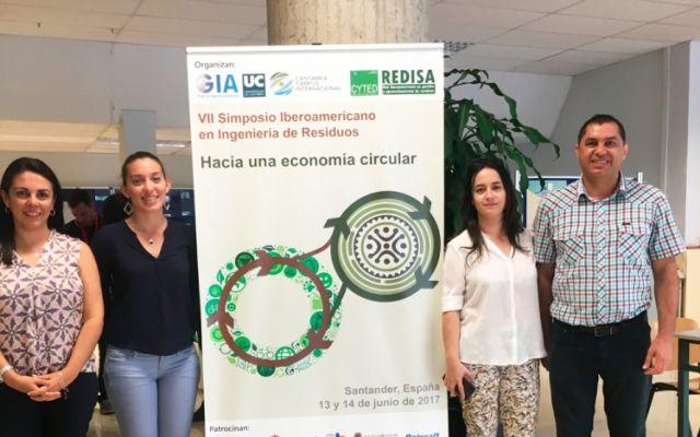 Investigadores del TEC participaron en Simposio Iberoamericano de Ingeniería en Residuos