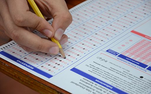 Admission exam to the Technological.