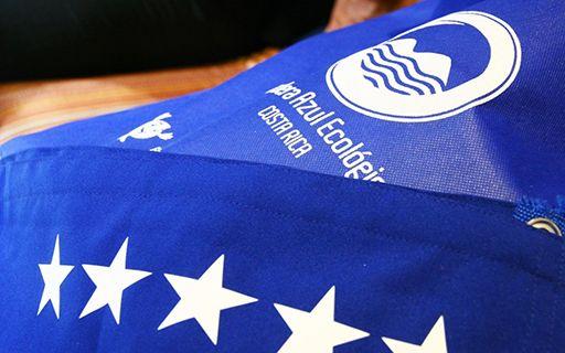 Bandera Azul Ecológica.