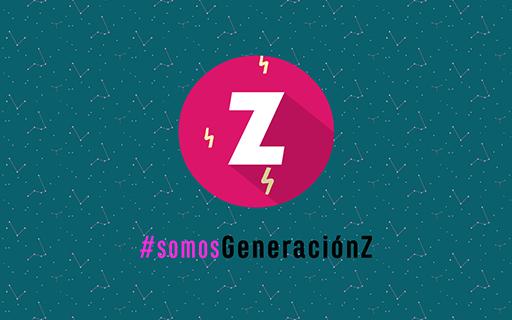 Imagen tiene el texto #somosGeneraziónZ