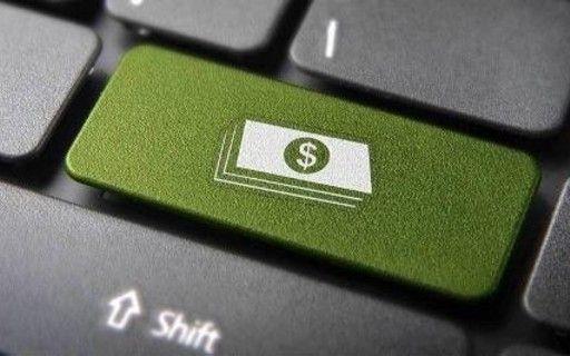 Un botón con signo de dólares en el teclado.
