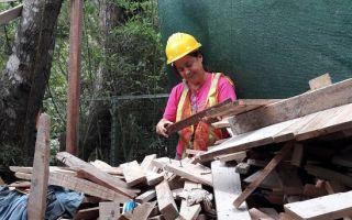 Residuos sólidos de la construcción