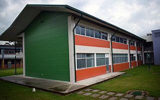 Edificio de aulas.