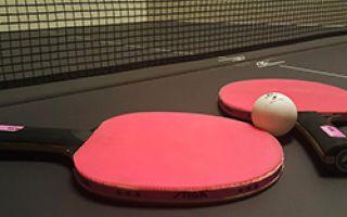 Equipo para jugar tenis de mesa