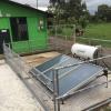 Sistema térmico híbrido termosifónico instalado para la lechería de la Escuela Agrícola e Industrial de San Carlos (ETAI).