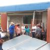 Explicación a productores de Dos Pinos procedentes de Zarcero, el funcionamiento de los sistemas solares instalados en el ITCR-SSC (En la imagen, Dr. Tomás de Jesús Guzmán Hernández).