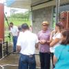 Explicación a productores de Dos Pinos el funcionamiento de los sistemas solares instalados en el ITCR-SSC (En la imagen, Dr. Javier M. Obando Ulloa).