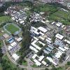 Foto aérea del campus.